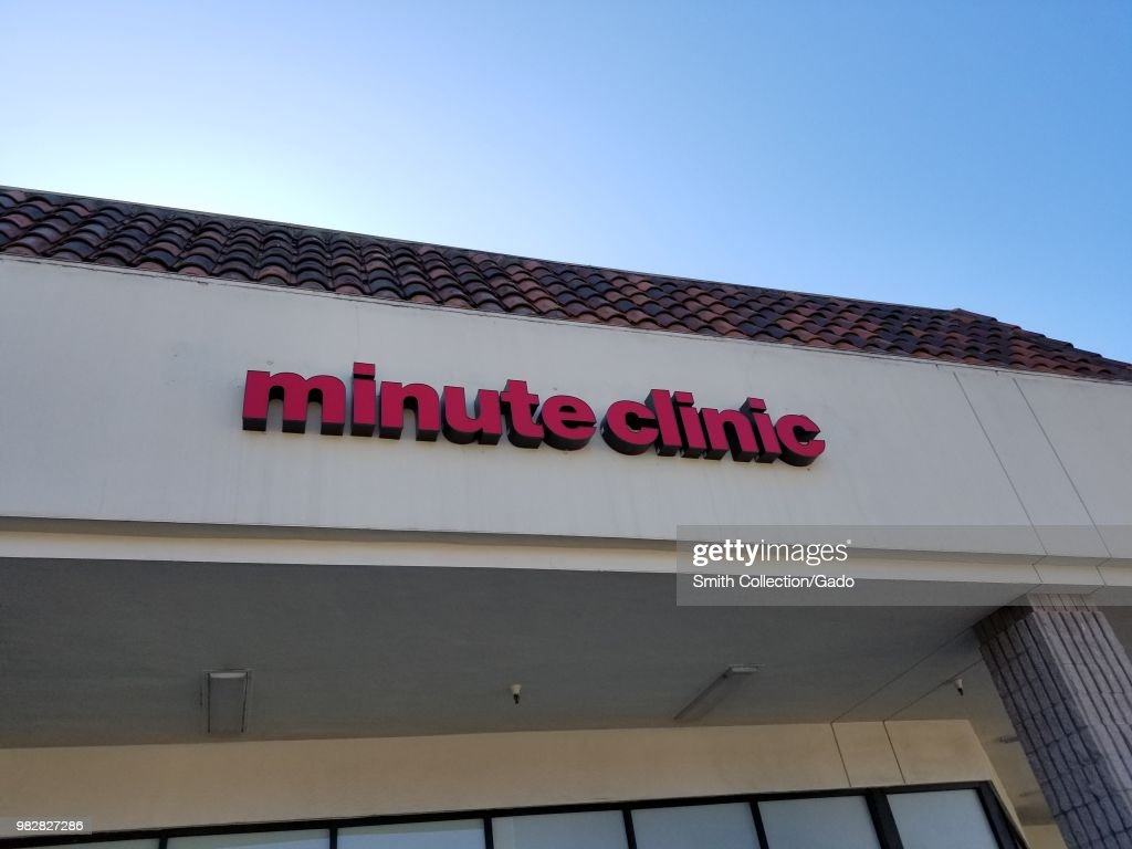 Minute Clinic : News Photo