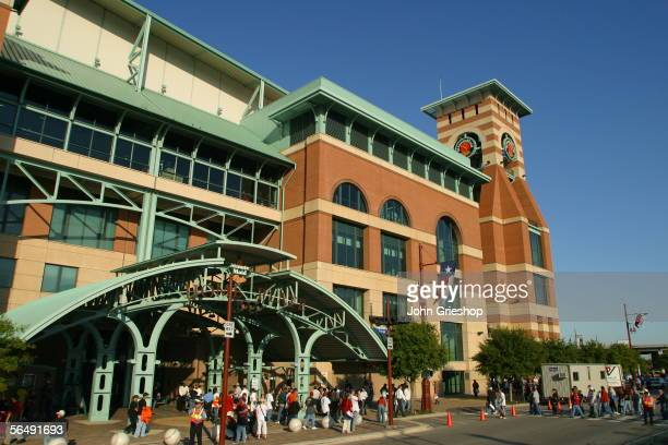 Minute Maid Park before Game Four of the Major League Baseball World Series between the Chicago White Sox and the Houston Astros on October 26 2005...