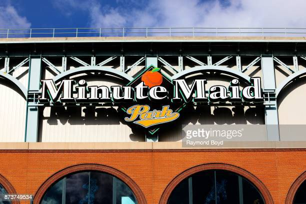 Minute Maid Park home of the Houston Astros baseball team in Houston Texas on November 4 2017