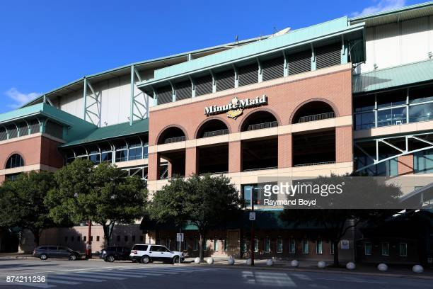 Minute Maid Park home of the Houston Astros baseball team in Houston Texas on November 6 2017