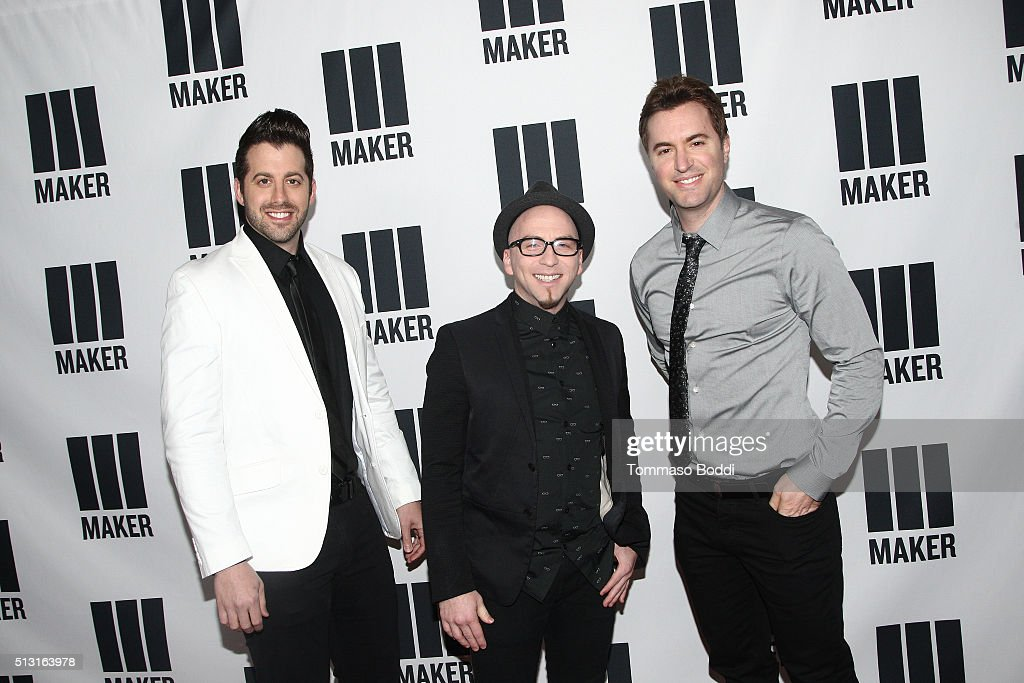 Minute Musical attend the Maker Studios Spark Premiere Event at ArcLight Cinemas on February 29, 2016 in Culver City, California.