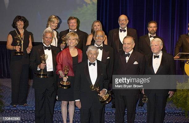 60 minutes producer Don Hewitt 60 Minutes Honorees Back Row Christiane Amanpour Diane Sawyer Steve Kroft Meredith Vieira Philip Scheffler Johnathon...