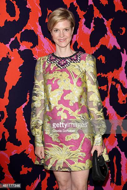 Minzi zu Hohenlohe attends the private dinner hosted by mytheresacom at Museum Brandhorst on June 24 2014 in Munich Germany