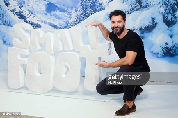 Miquel Fernandez attends the 'Small Foot' photocall at Urso hotel on October 4 2018 in Madrid Spain