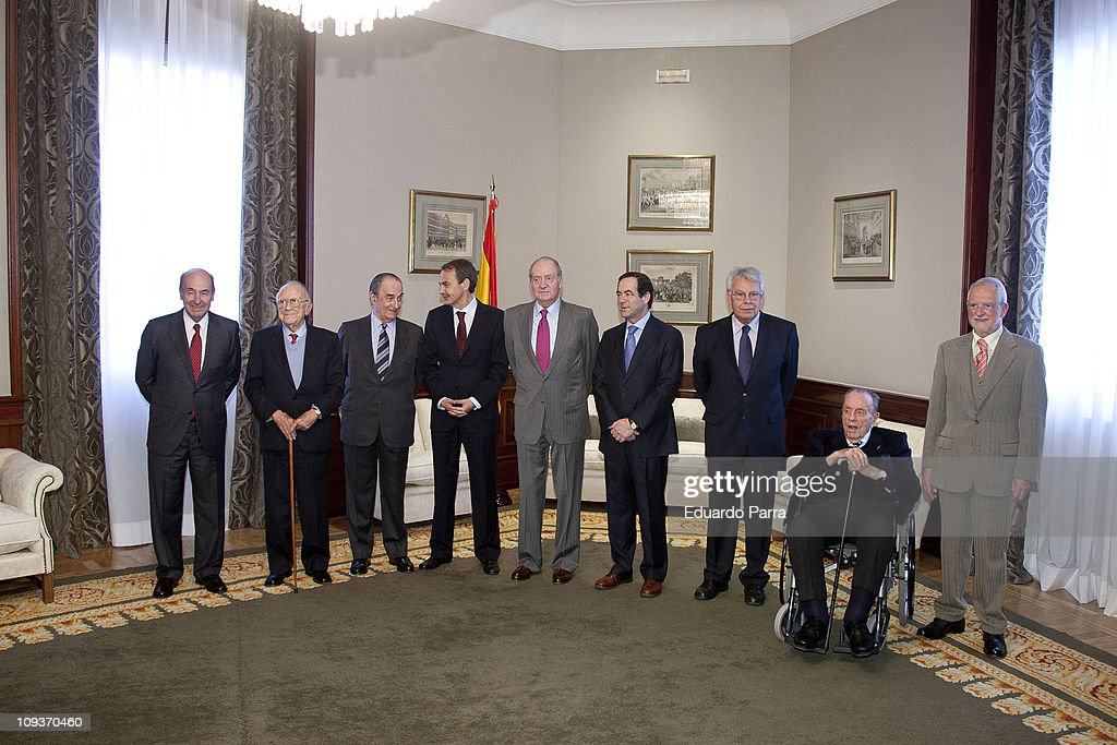 Spanish King Attends Lunch Marking 30th Anniversary Of Failed Coup