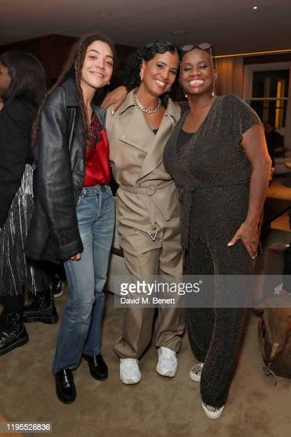 Miquita Oliver Neneh Cherry and Andi Oliver attend the Neneh Cherry and iD celebration of 30 years of 'Raw Like Sushi' at The London EDITION on...