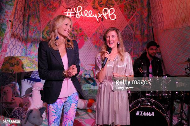 Mira Fain and Allison Spampanato speak at the Launch Celebration of the Pottery Barn Pottery Barn Kids PBteen and Lilly Pulitzer Exclusive Collection...