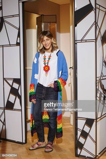 Mira Mikati founder of Mira Mikati is photographed for Madame Figaro on May 9 2016 in Paris France PUBLISHED IMAGE CREDIT MUST READ Franco...