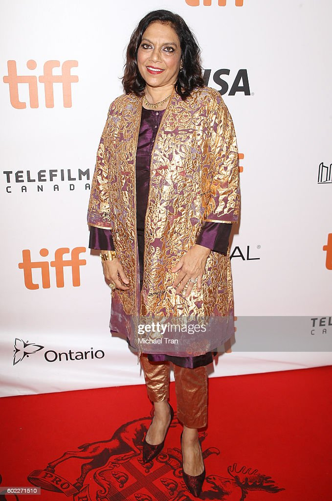 Mira Nair arrives at the 2016 Toronto International Film Festival - 'Queen Of Katwe' premiere held at Roy Thomson Hall on September 10, 2016 in Toronto, Canada.