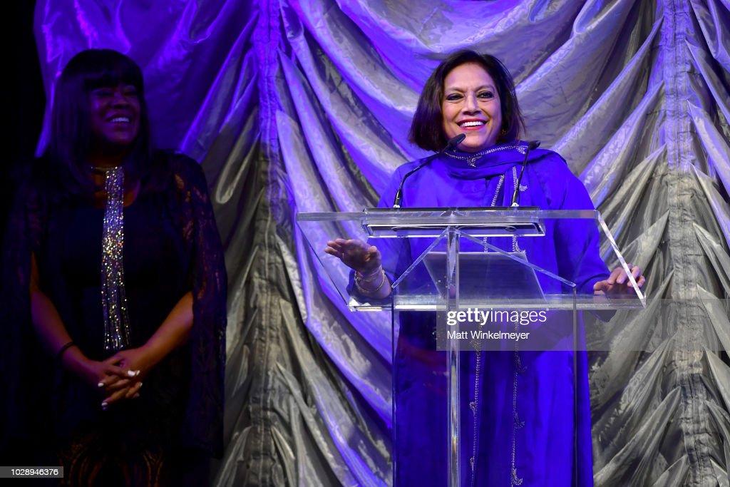 2018 TIFF Tribute Gala Honoring Piers Handling And Celebrating Women In Film - Show : News Photo