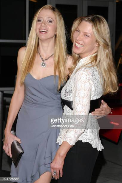 Mira Sorvino and Deborah Unger during The 5th Annual Los Angeles Italian Film Awards presents Between Strangers at Alto Palato in Hollywood...