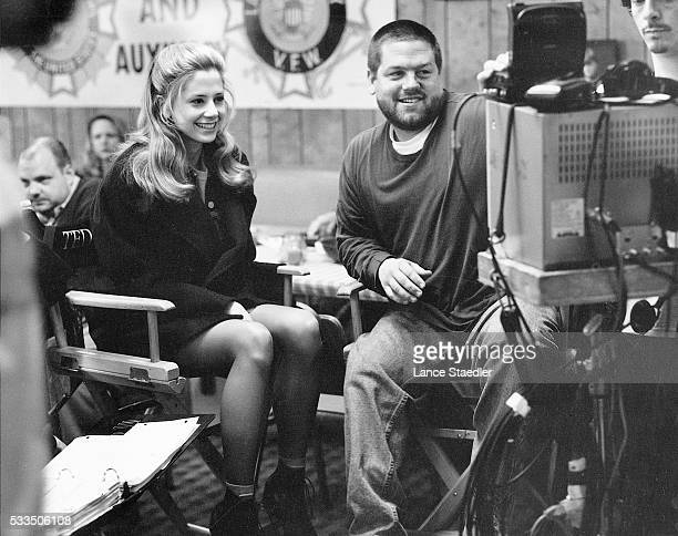 Mira Sorvino and Ted Demme