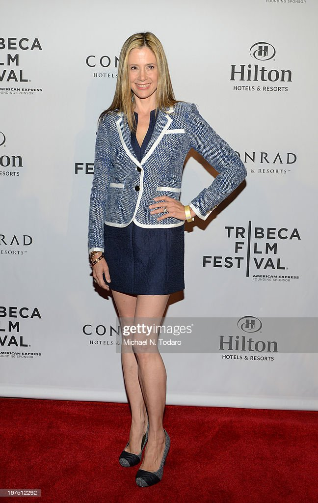 Mira Sorvino attends the 2013 Tribeca Film Festival Awards at the Conrad New York on April 25, 2013 in New York City.
