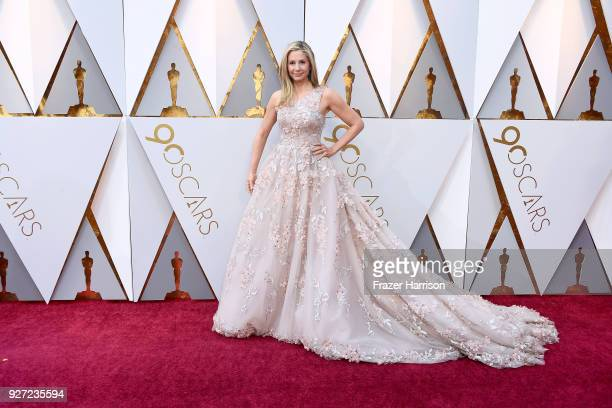 Mira Sorvino attends the 90th Annual Academy Awards at Hollywood Highland Center on March 4 2018 in Hollywood California