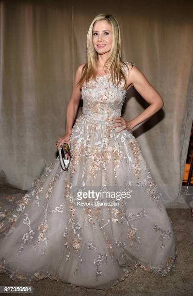 Mira Sorvino attends the 90th Annual Academy Awards Governors Ball at Hollywood Highland Center on March 4 2018 in Hollywood California