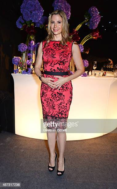 Mira Sorvino attends the London Evening Standard's '1000 London's Most Influential People' at The Francis Crick Institute on October 16 2014 in...