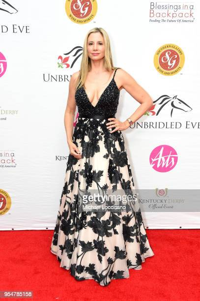 Mira Sorvino attends the Unbridled Eve Gala during the 144th Kentucky Derby at Galt House Hotel Suites on May 4 2018 in Louisville Kentucky