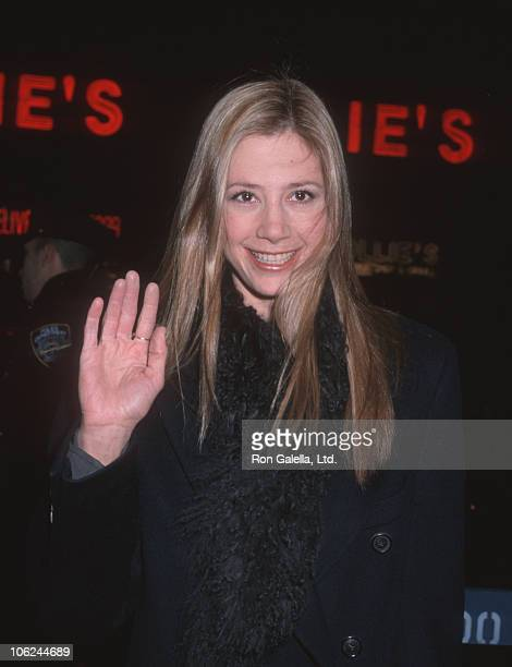 Mira Sorvino during 'Any Given Sunday' New York City Premiere at Loews Astor Plaza Theater in New York City New York United States