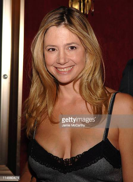Mira Sorvino during New York Premiere of 'The Departed' to Benefit the Film Foundation at Ziegfeld Theatre in New York City New York United States