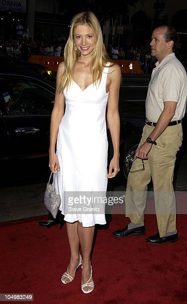 Mira Sorvino during Windtalkers Premiere at Grauman's Chinese Theatre in Hollywood California United States
