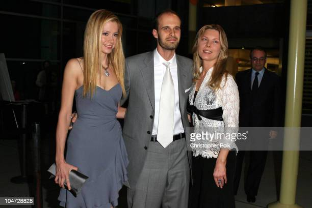 Mira Sorvino Edoardo Ponti and Deborah Unger during The 5th Annual Los Angeles Italian Film Awards presents Between Strangers at Alto Palato in...