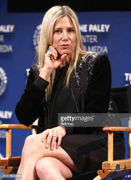 Mira Sorvino star of Condor attends an FYC Conversation hosted by ATT Audience at The Paley Center for Media on October 8 2018 in Beverly Hills...