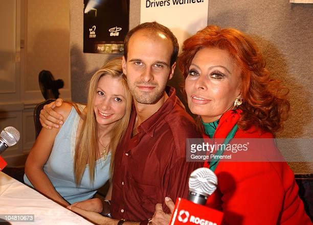 Mira Sorvino writer/director Edoardo Ponti Sophia Loren