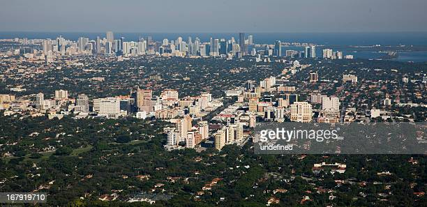 miracle mile, miami - coral gables stock pictures, royalty-free photos & images