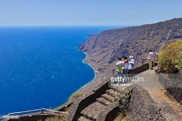 mirador de isora, el hierro - islas canarias fotografías e imágenes de stock