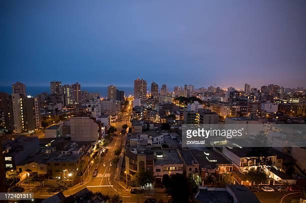 Miraflores à Lima, au Pérou