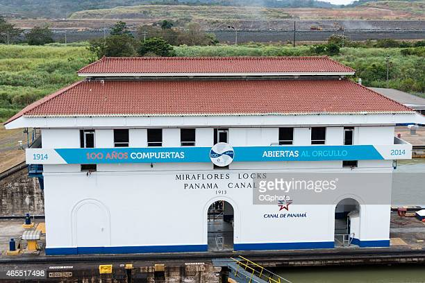 xxxl: miraflores locks of the panama canal - ogphoto stock pictures, royalty-free photos & images