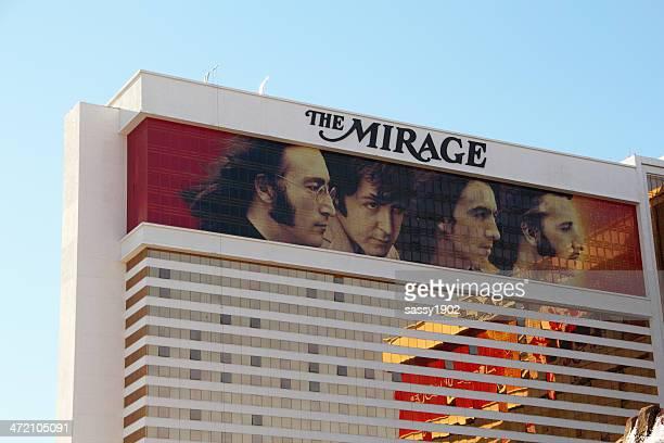 mirage beatles las vegas - the mirage las vegas stock pictures, royalty-free photos & images