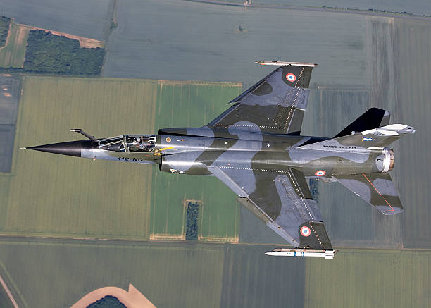 Mirage F1CR of the French Air Force over France