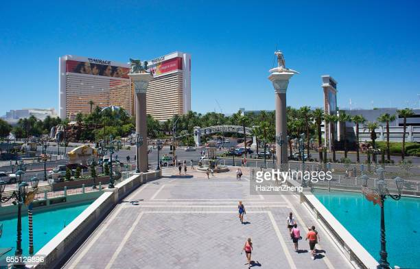 mirage hotel in las vegas - mirage stock photos and pictures