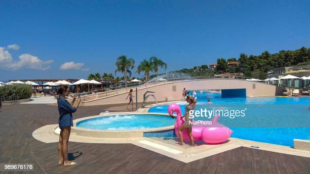 Miraggio 5 star Hotel and Thermal Spa Resort located in the Southern part of Kassandra Penninsula Halkidiki Greece on 1st July 2018 Miraggio is a...