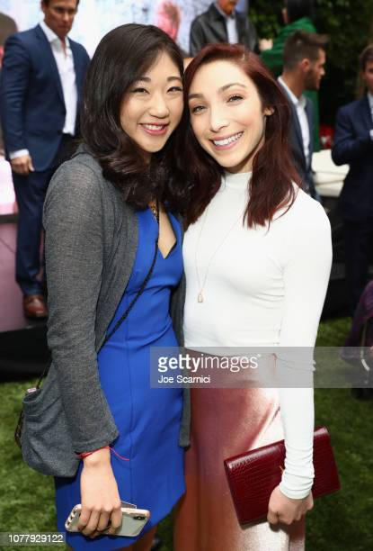 "Mirai Nagasu and Meryl Davis attend The 6th Annual ""Gold Meets Golden"" Brunch, hosted by Nicole Kidman and Nadia Comaneci and presented by Coca-Cola..."
