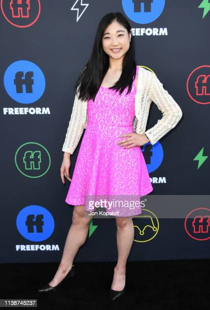 Mirai Nagasu attends 2nd Annual Freeform Summit at Goya Studios on March 27 2019 in Los Angeles California