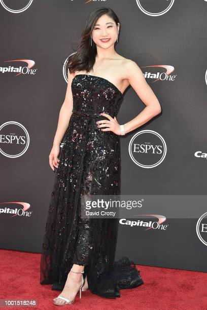 Mirai Nagasu attends The 2018 ESPYS at Microsoft Theater on July 18 2018 in Los Angeles California