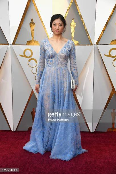 Mirai Nagasu attends the 90th Annual Academy Awards at Hollywood Highland Center on March 4 2018 in Hollywood California