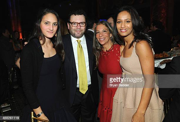 Miral Rivalta Arthur G Altschul Jr Sharon Elghanayan and Rula Jebreal attend the Child Mind Institute 4th Annual Child Advocacy Award Dinner at...