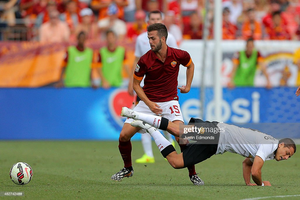 International Champions Cup 2014 - AS Roma v Manchester United : News Photo