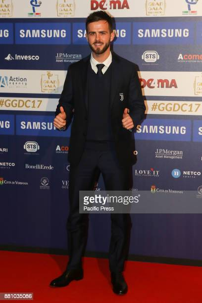 Miralem Pjanic a Juventus player was also awarded as one of the best players in the Italian soccer championship