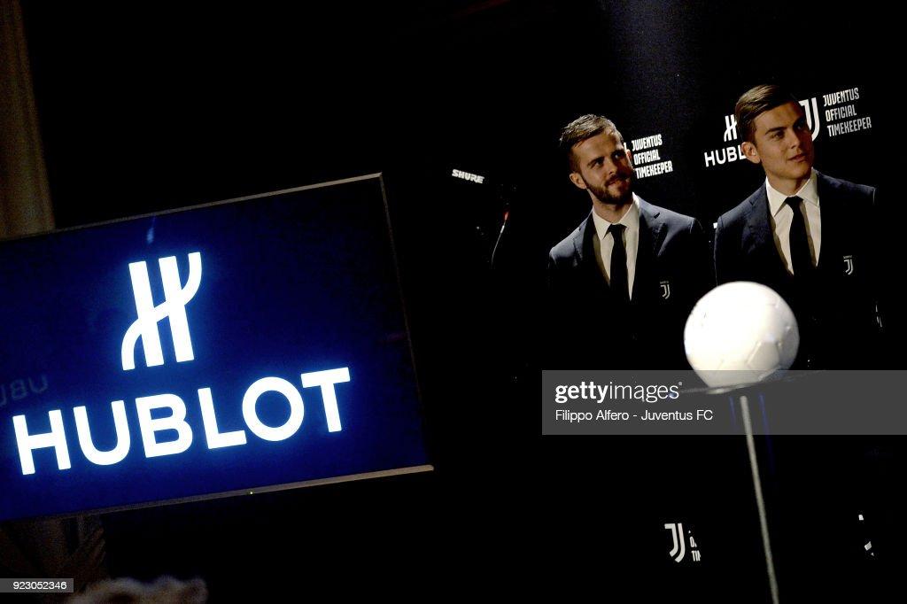 Hublot Renews Partnerhip With Juventus : Nachrichtenfoto