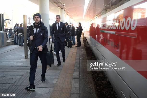 Miralem Pjanic during Juventus Travel to Bologna ahead of the Serie A match versus Bologna FC on December 16 2017 in Bologna Italy