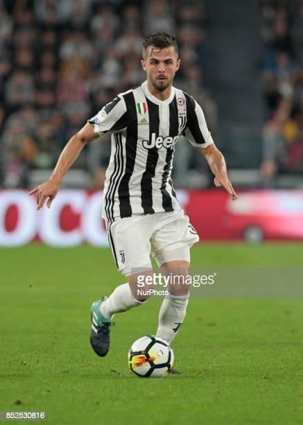 Miralem Pjanic during Serie A match between Juventus v Torino in Turin on September 23 2017