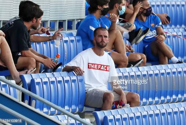 Miralem Pjanic during the friendly match between FC Barcelona and Club Gimnastic de Tarragona, played at the Johan Cruyff Stadium on 21th July 2021,...