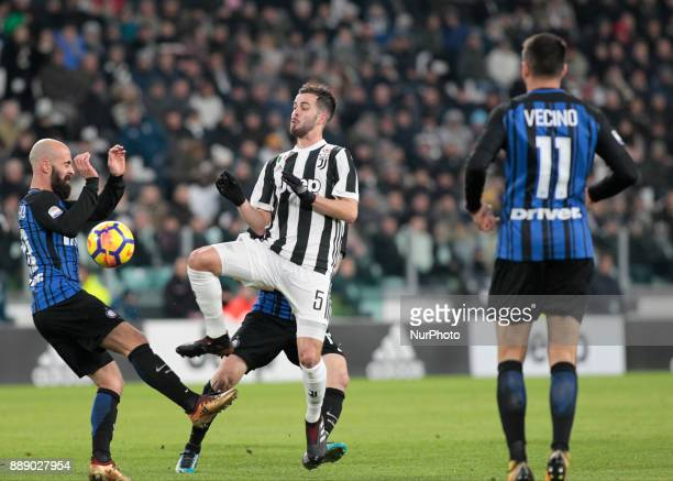 Miralem Pjanic during the Italian Serie A football match Juventus and Internazionale on December 9 2017 at the Allianz stadium in Turin