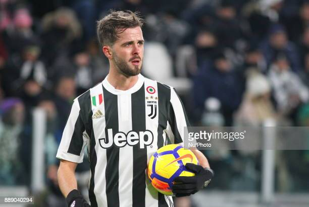Miralem Pjanic during the Serie A football match between Juventus FC and FC Internazionale at Allianz Stadium on 09 December 2017 in Turin Italy The...