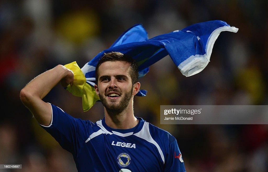 Slovakia v Bosnia-Herzegovina - FIFA 2014 World Cup Qualifier : News Photo