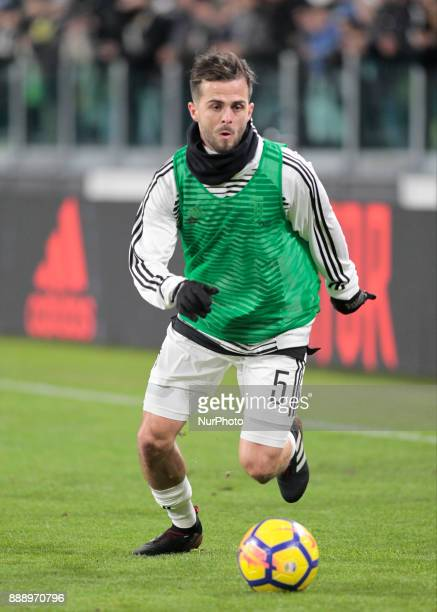 Miralem Pjanic of Juventus during the Italian Serie A football match Juventus and Inter on December 9 2017 at the Allianz stadium in Turin
